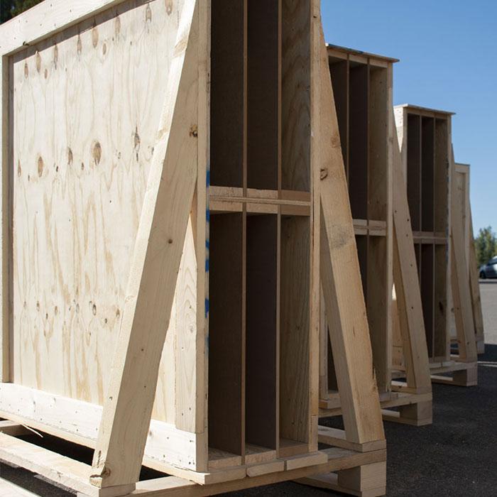 mur à ossature bois